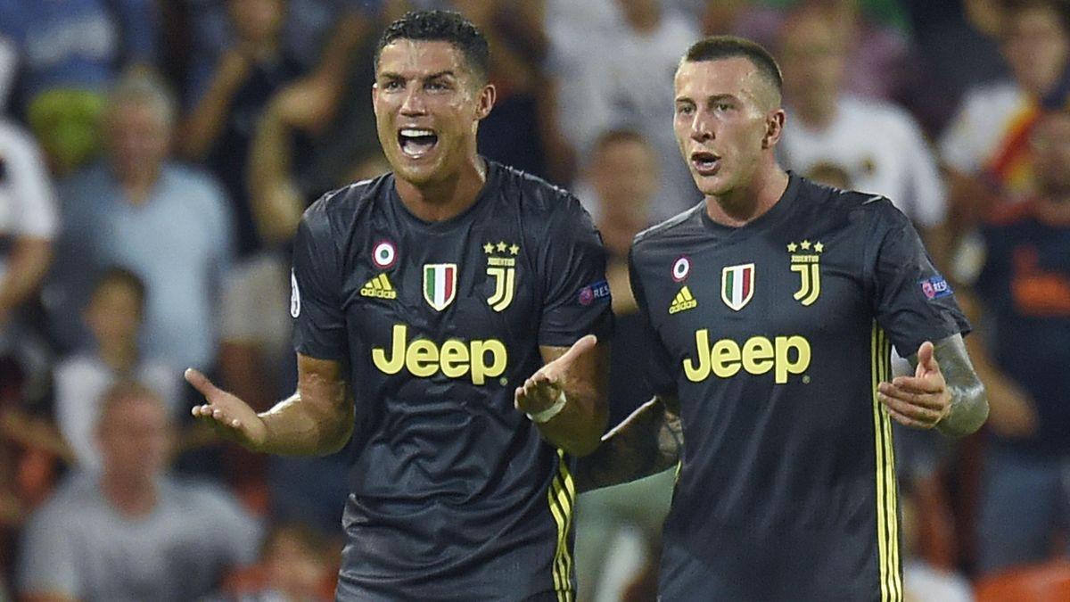 Cristiano Ronaldo, expulsado en Mestalla