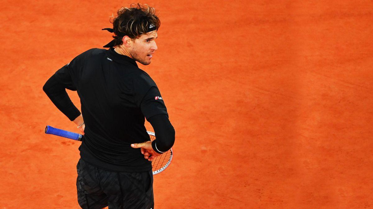 """Dominic Thiem revine în competiție după eliminarea din """"sferturi"""" de la Roland Garros 2020"""