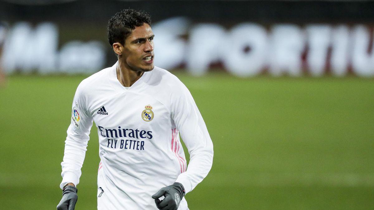 Raphaël Varane avec le maillot du Real Madrid