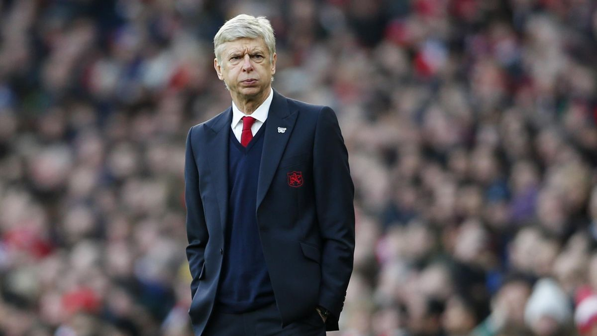 Arsene Wenger during Arsenal's FA Cup match against Burnley