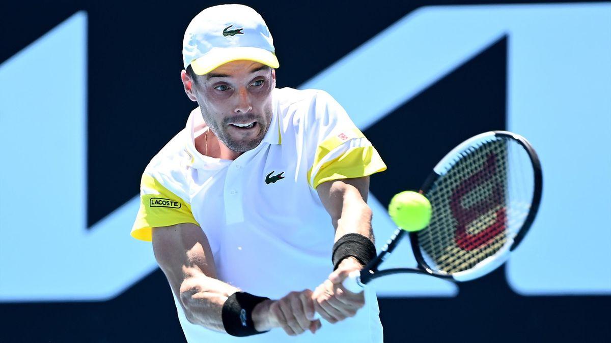 Roberto Bautista en el Open de Australia 2021