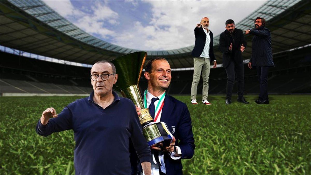 Serie A, cambio di panchine