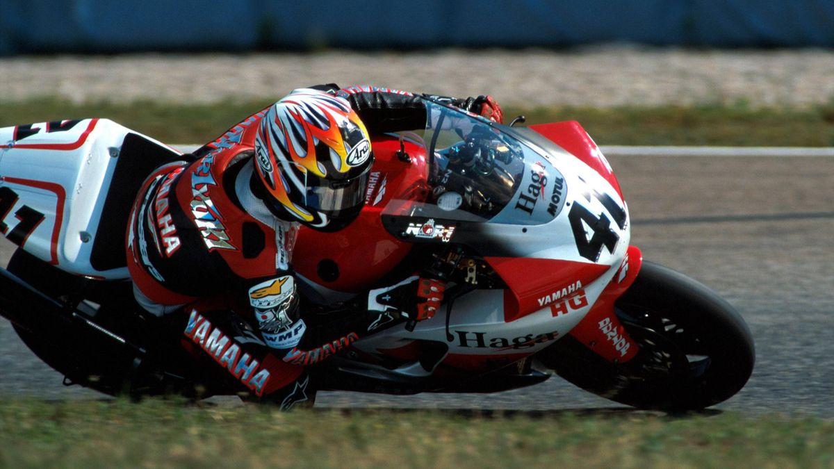 Noriyuki Haga, Yamaha SBK 2000, Imago