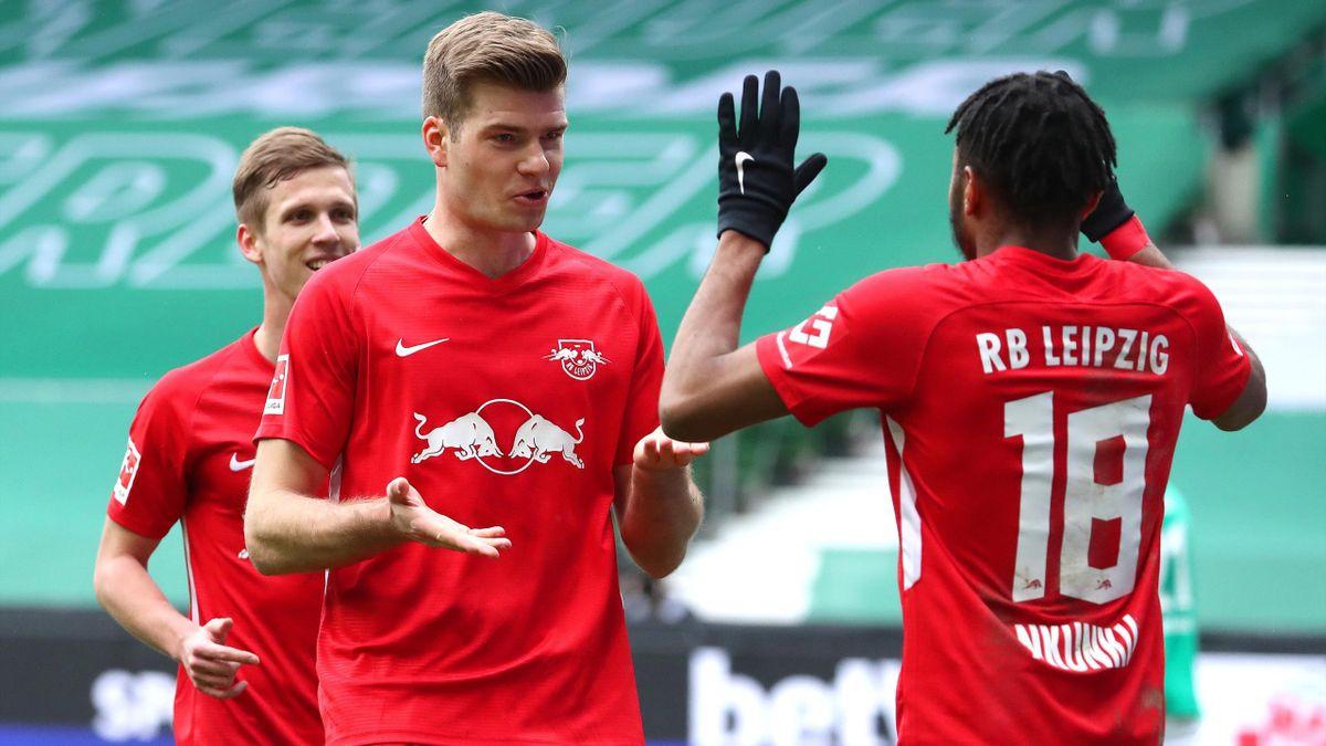 Jubel beim RB Leipzig