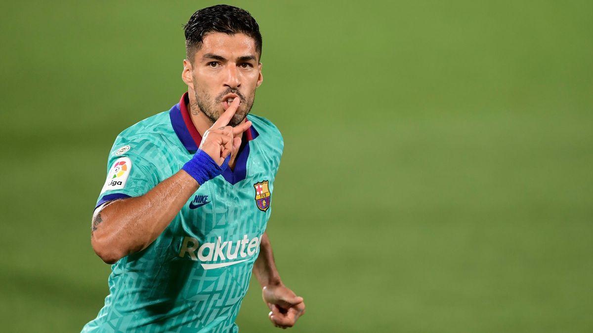 Luis Suarez, l'attaquant uruguayen du Barça.