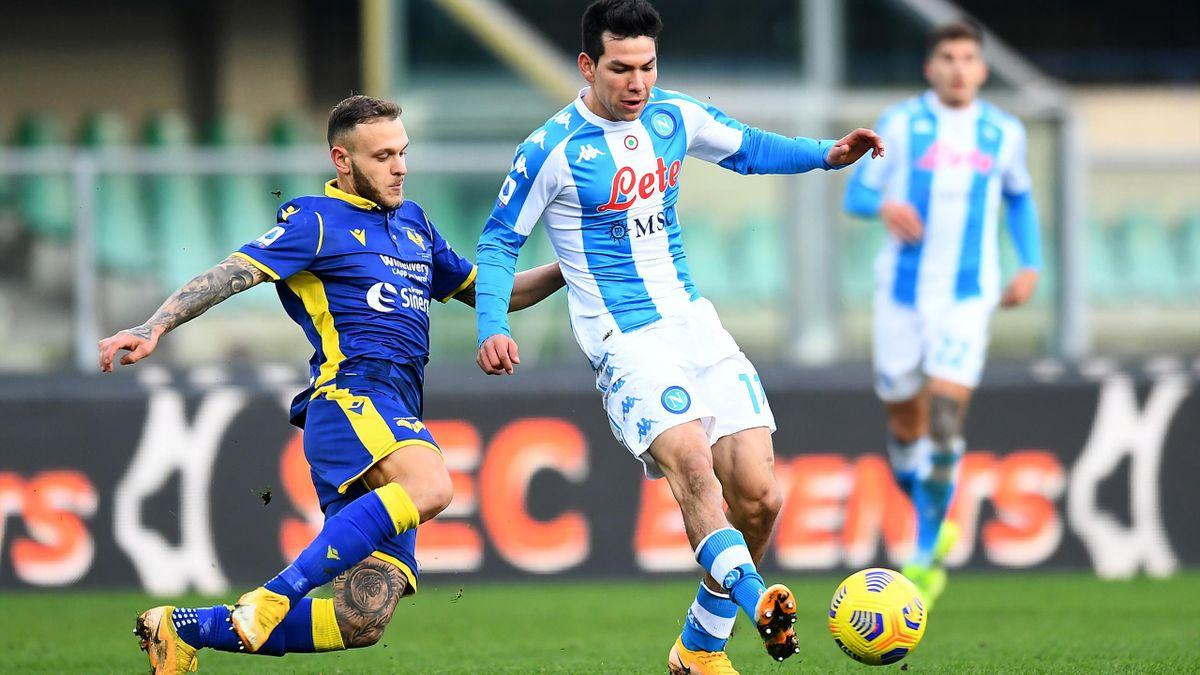 Hirving Lozano (Hellas Verone vs Naples)