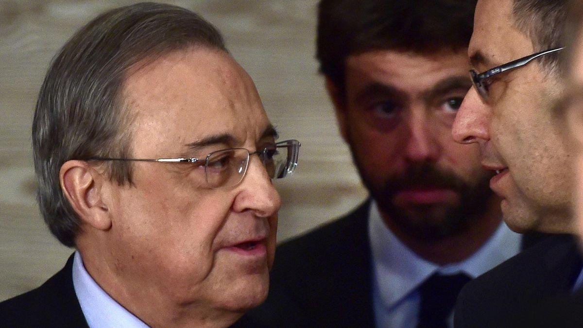 Florentino Perez e Andrea Agnelli