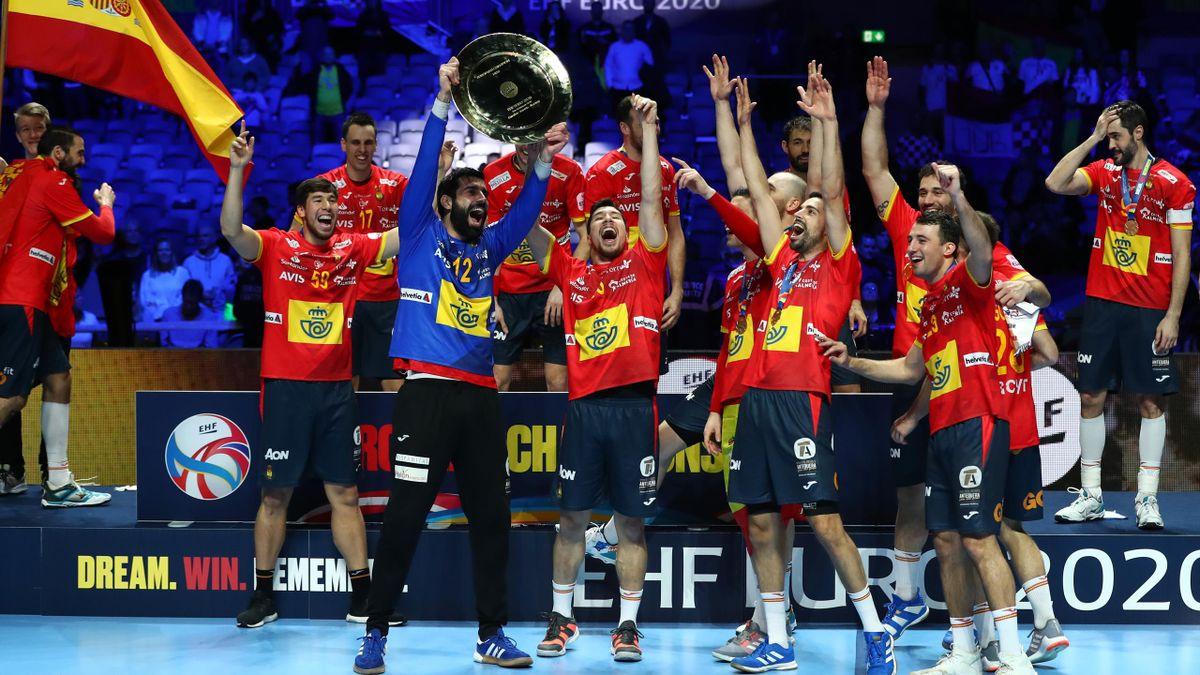 L'Espagne célèbre son titre à l'Euro 2020 après sa finale contre la Croatie