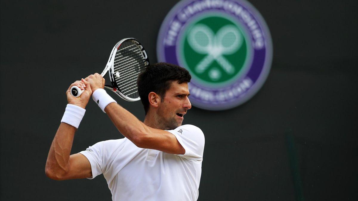 Novak Djokovic Wimbledon 2017