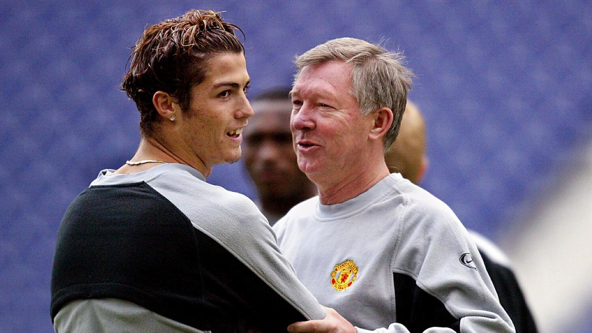 Alte Zeiten: Cristiano Ronaldo mit Sir Alex Ferguson