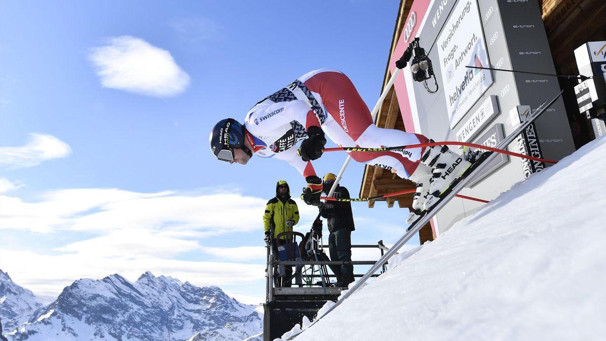 Ski alpin : La mythique épreuve de Wengen pourrait être rayée du