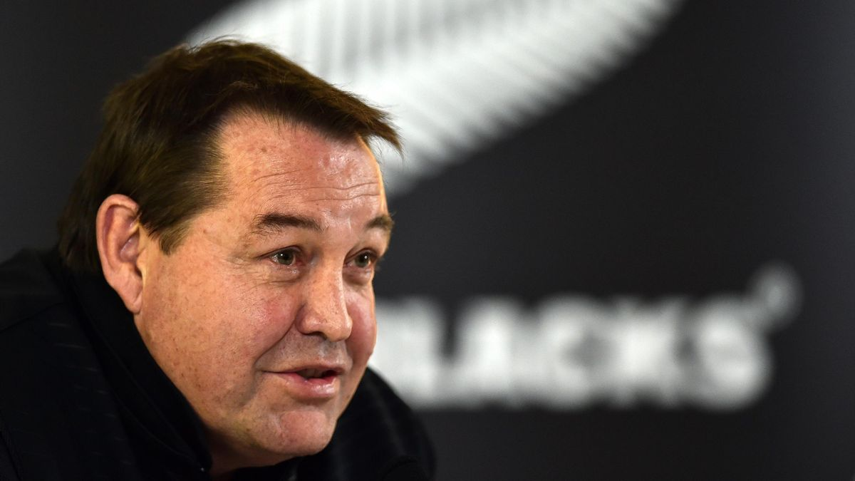Steve Hansen - All Blacks coach