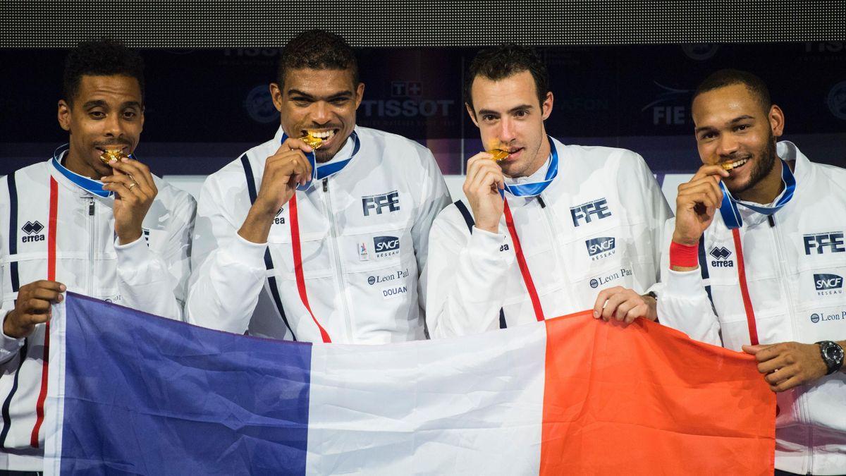 L'équipe de France de fleuret