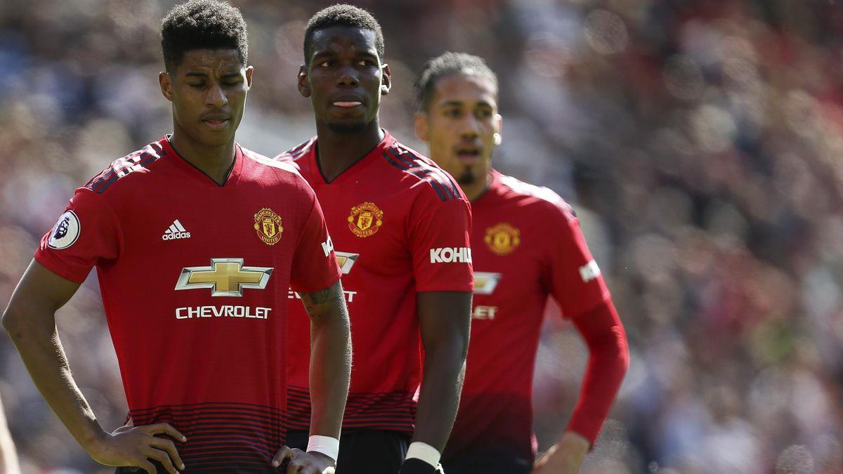 Bleibt Paul Pogba? Manchester United ist in der Transferfalle.