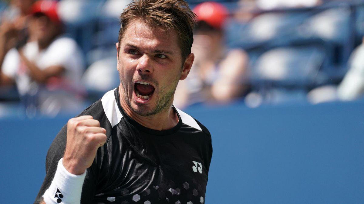 Stan Wawrinka à l'US Open.
