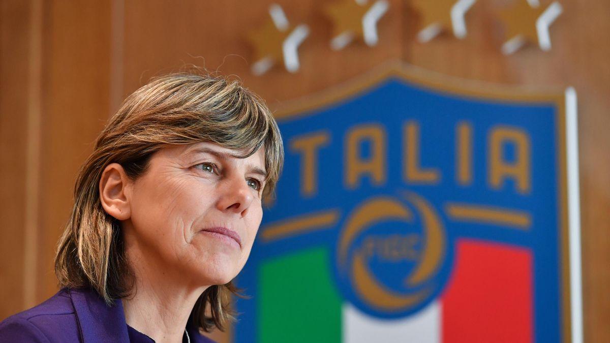 Milenia Bertolini, la sélectionneure de l'équipe d'Italie