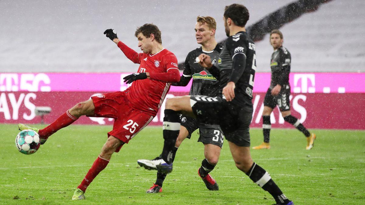 Thomas Muller, Bayern Monaco-Friburgo