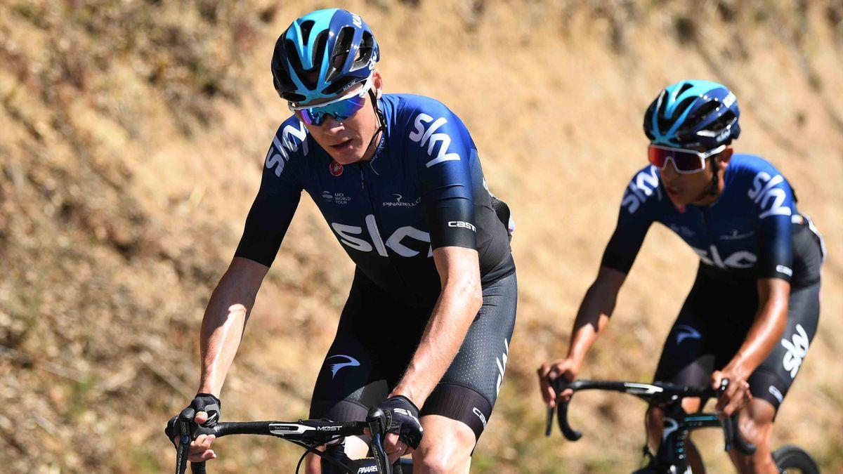 Chris Froome Egan Bernal Volta a Catalunya