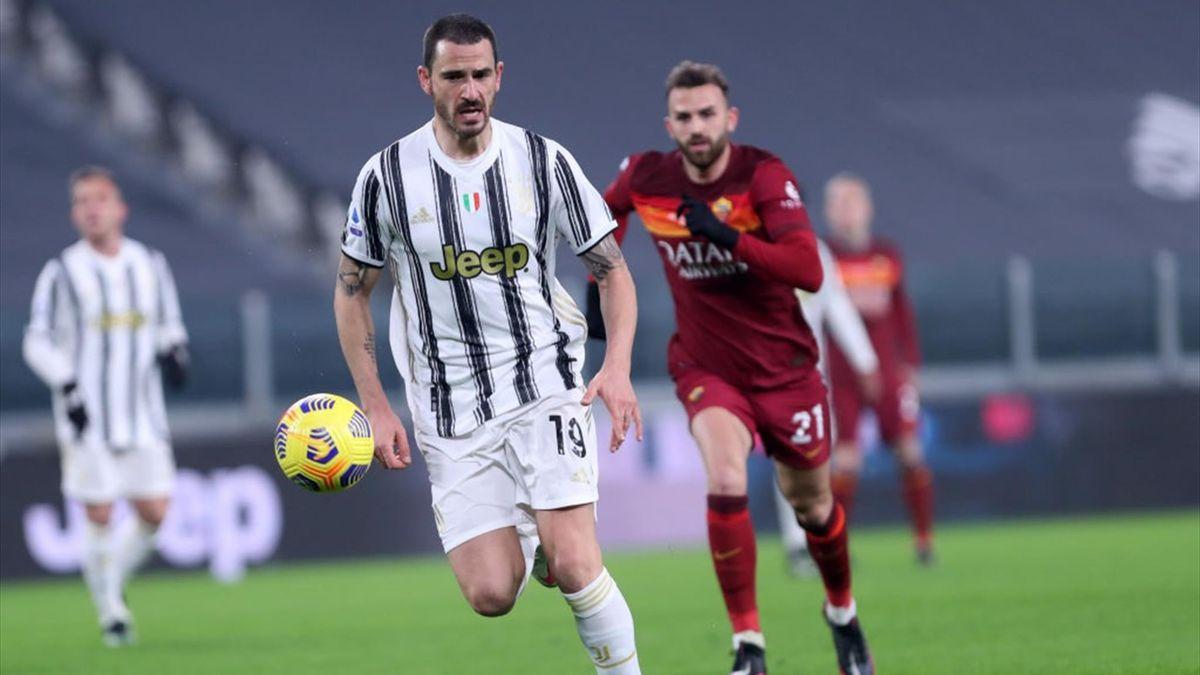Bonucci - Juventus-Roma - Serie A 2020/2021 - Getty Images