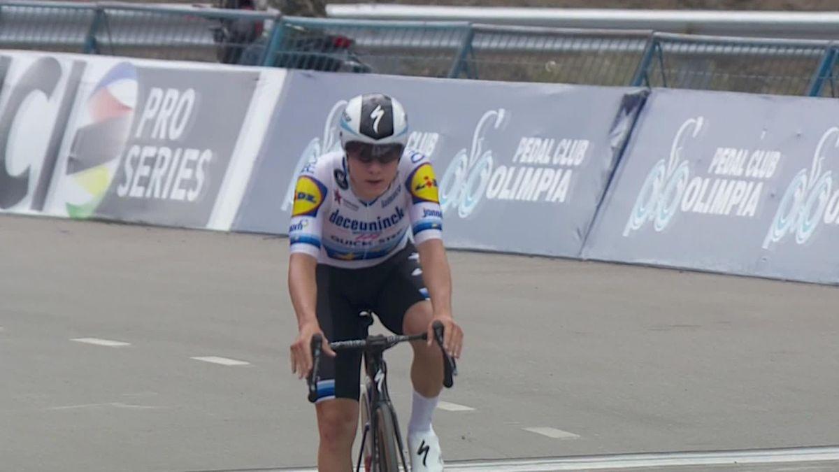 Vuelta a San Juan Stage 3 - Remco Evenepoel wins stage 3