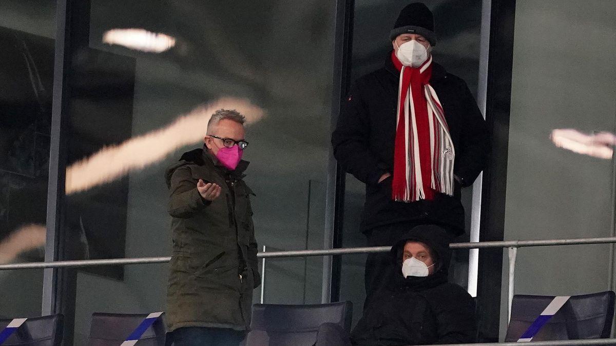 Der Vorstand des FC Köln mit Alexander Wehrle (l.)