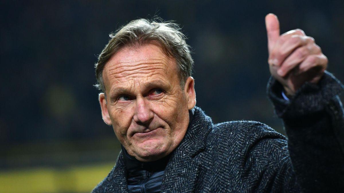 BVB-Boss Hans-Joachim Watzke drückt dem FC Schalke 04 im Abstiegskampf die Daumen