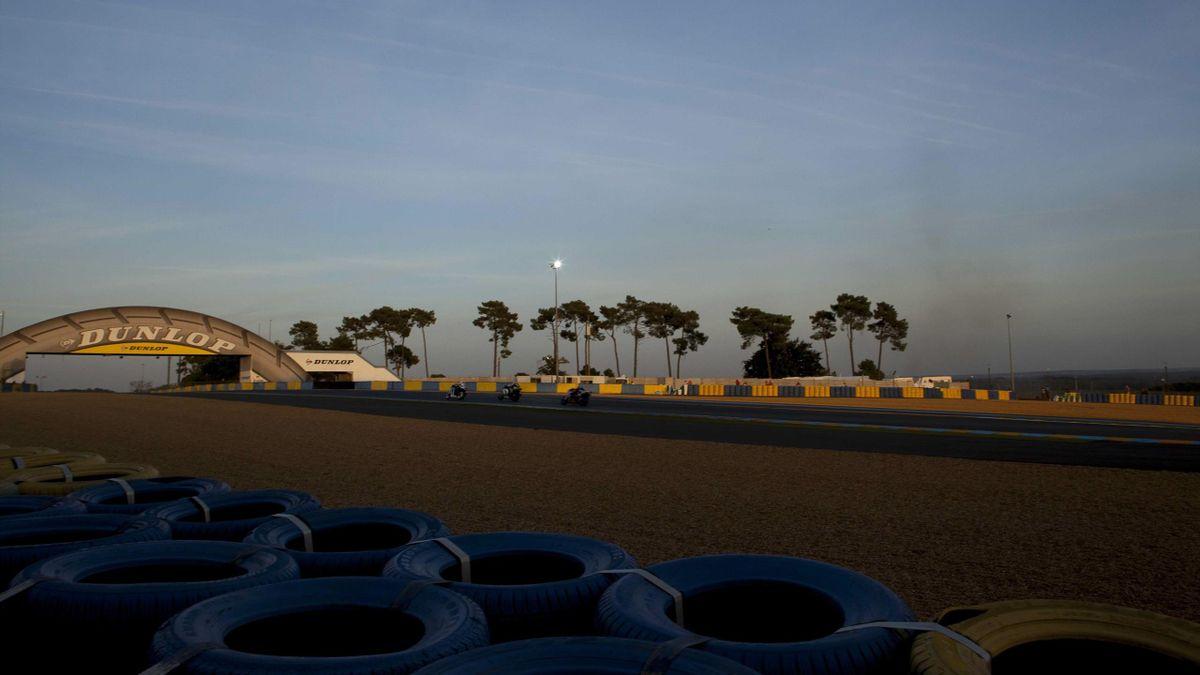 Le circuit Bugatti au Mans.