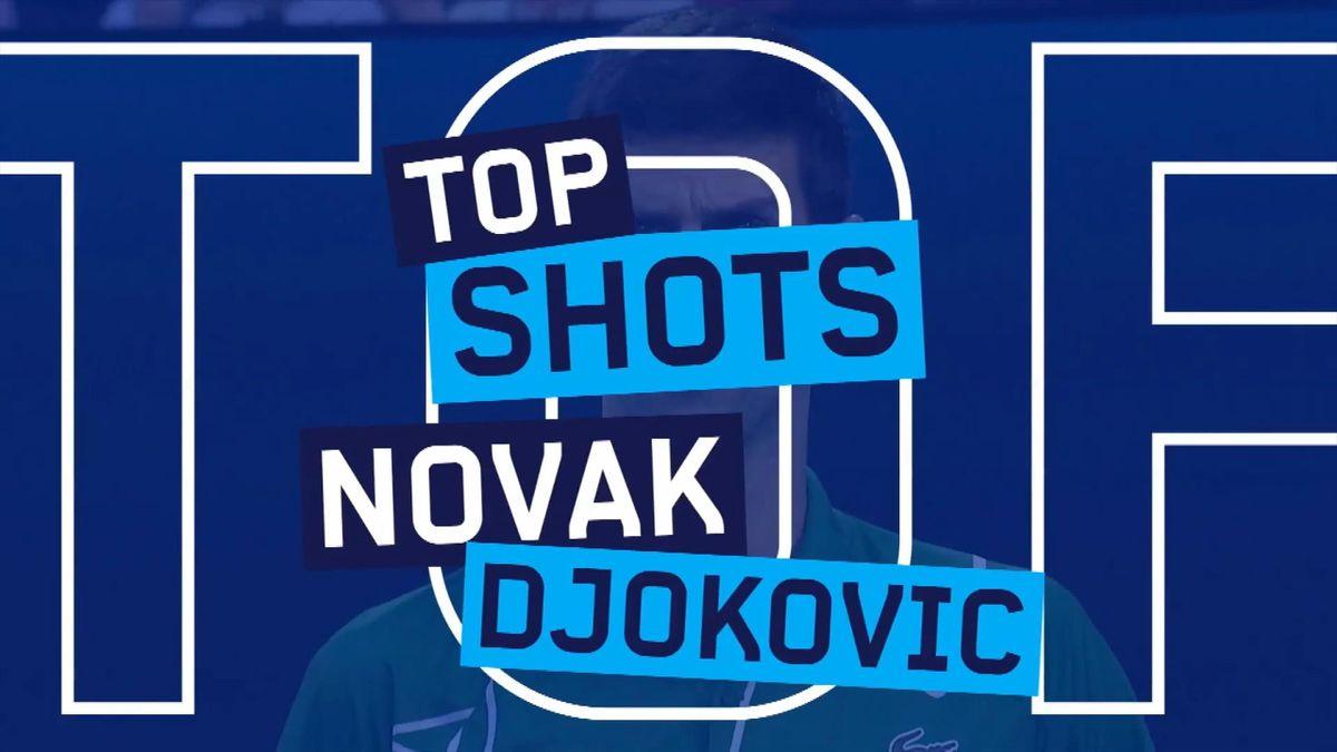 Australian Open : Novak Djokovic - Best Points 2020