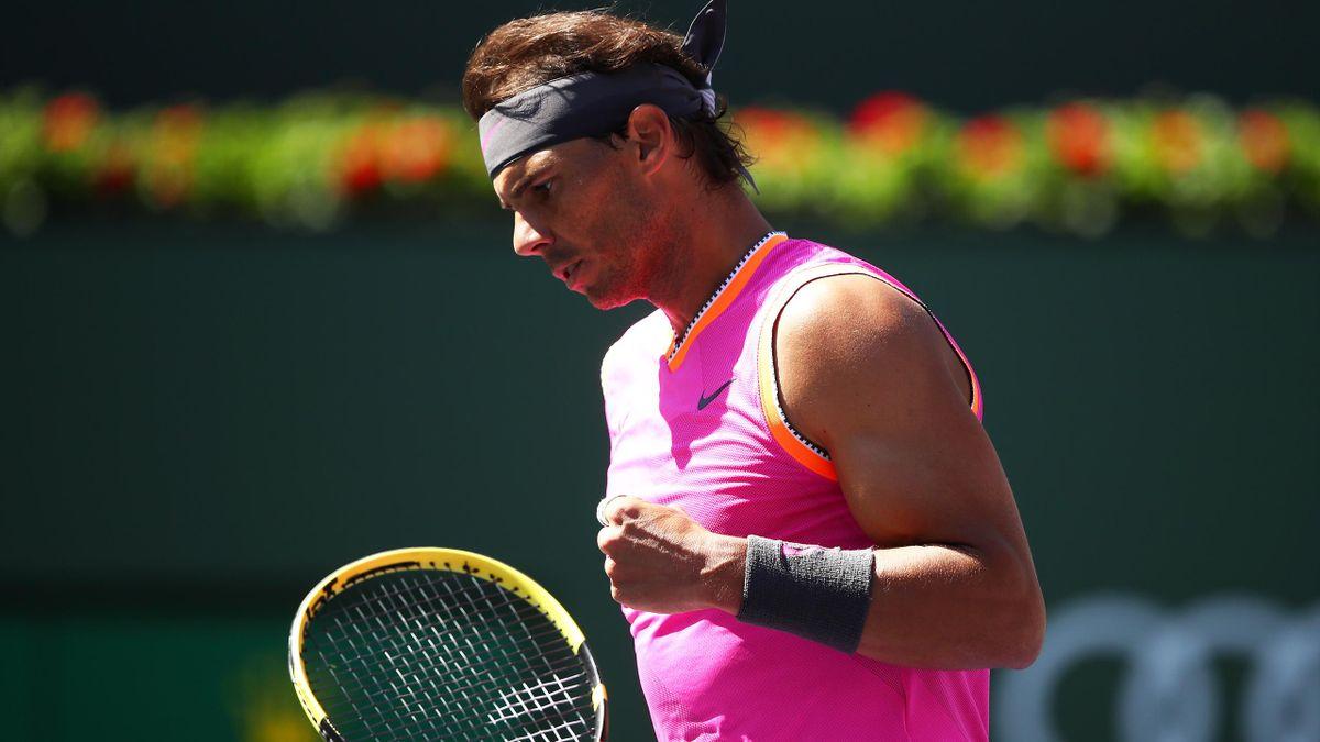 Rafa Nadal se clasifica para los cuartos de final de Indian Wells 2019