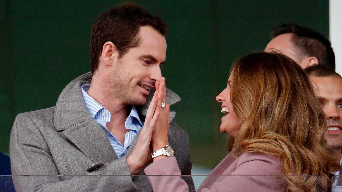 Andy Murray og kona Kim Sears