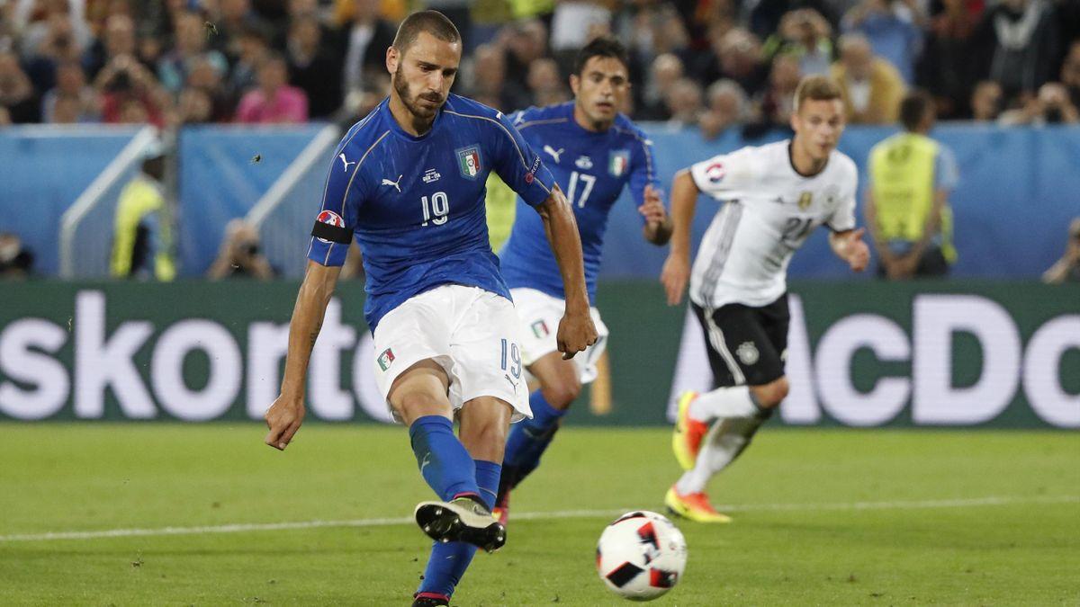 Leonardo Bonucci penalty sends Germany v Italy quarter-final into  extra-time - Eurosport