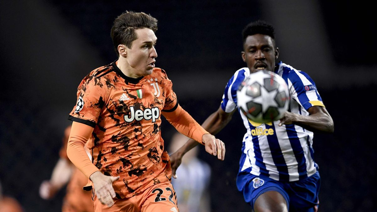 Federico Chiesa, Porto-Juventus, Champions League 2020-21, Getty Images