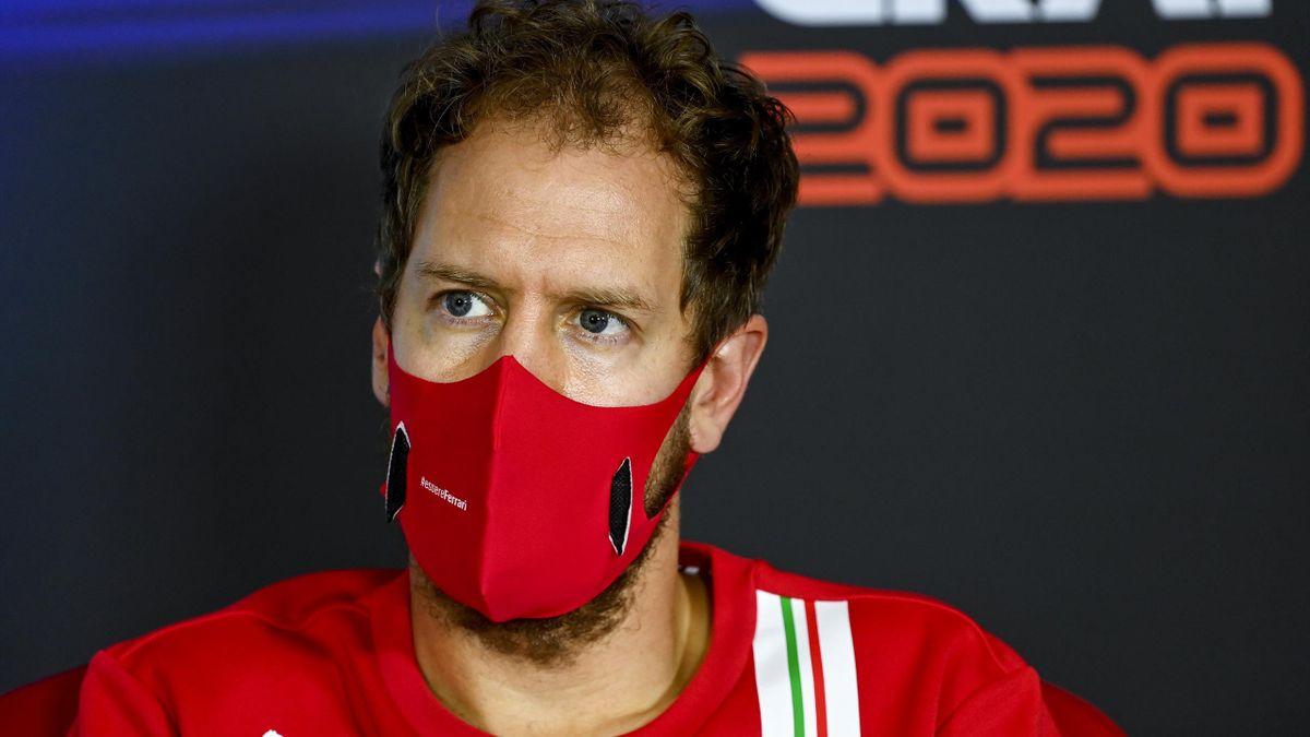 Sebastian Vettel im Dezember 2020