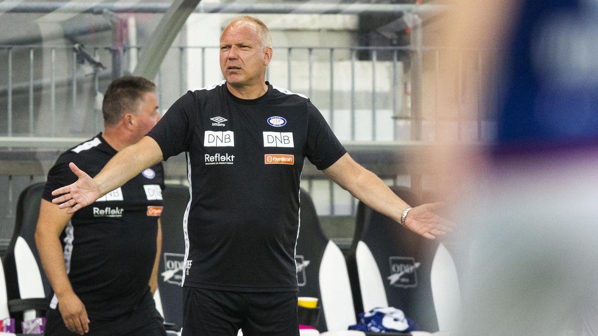 Dag-Eilev Fagermo under kampen mot Odd på Skagerak Arena