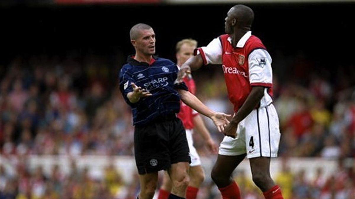 Roy Keane VS Patriсk Vieira