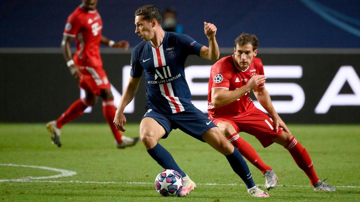 Der Vertrag von Julian Draxler bei Paris Saint-Germain läuft im Sommer aus