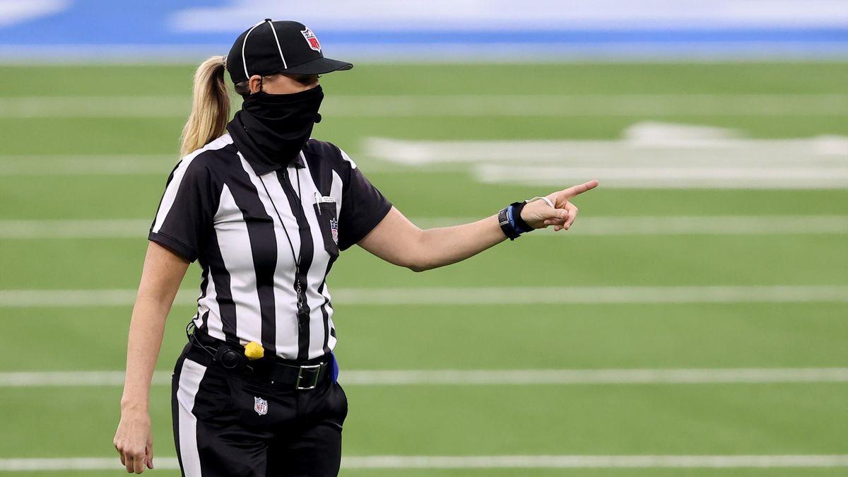 NFL-Schiedsrichterin Sarah Thomas