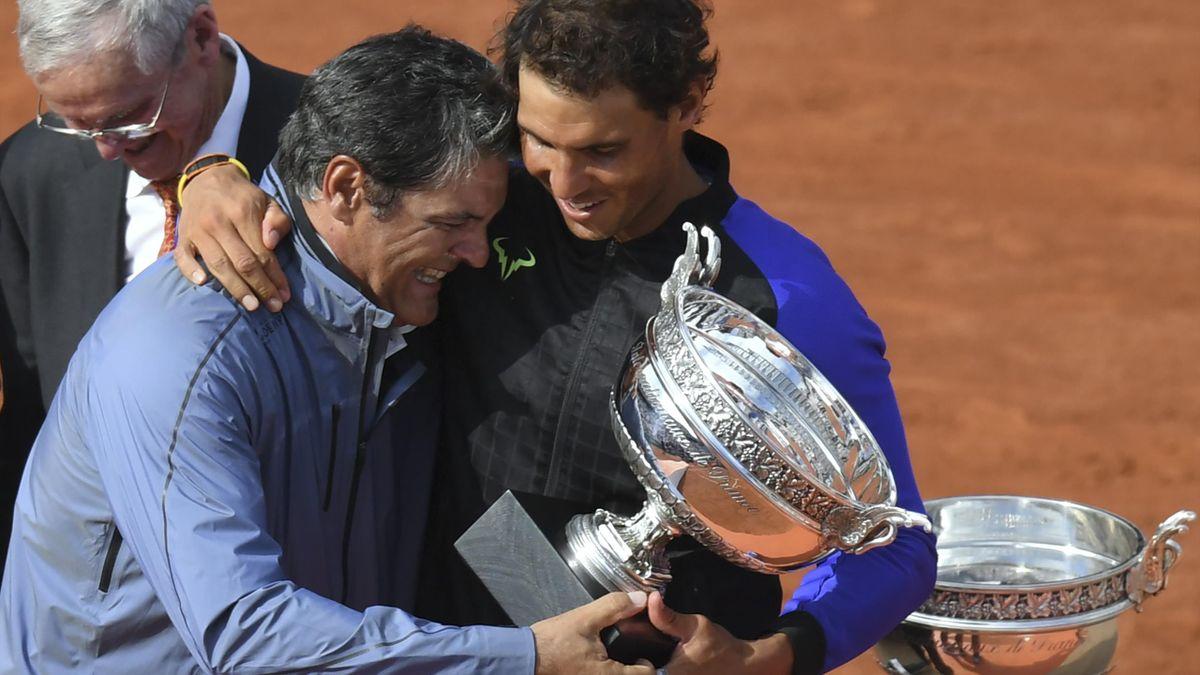 Toni Nadal s-a ocupat de pregătirea lui Rafa de la 3 ani