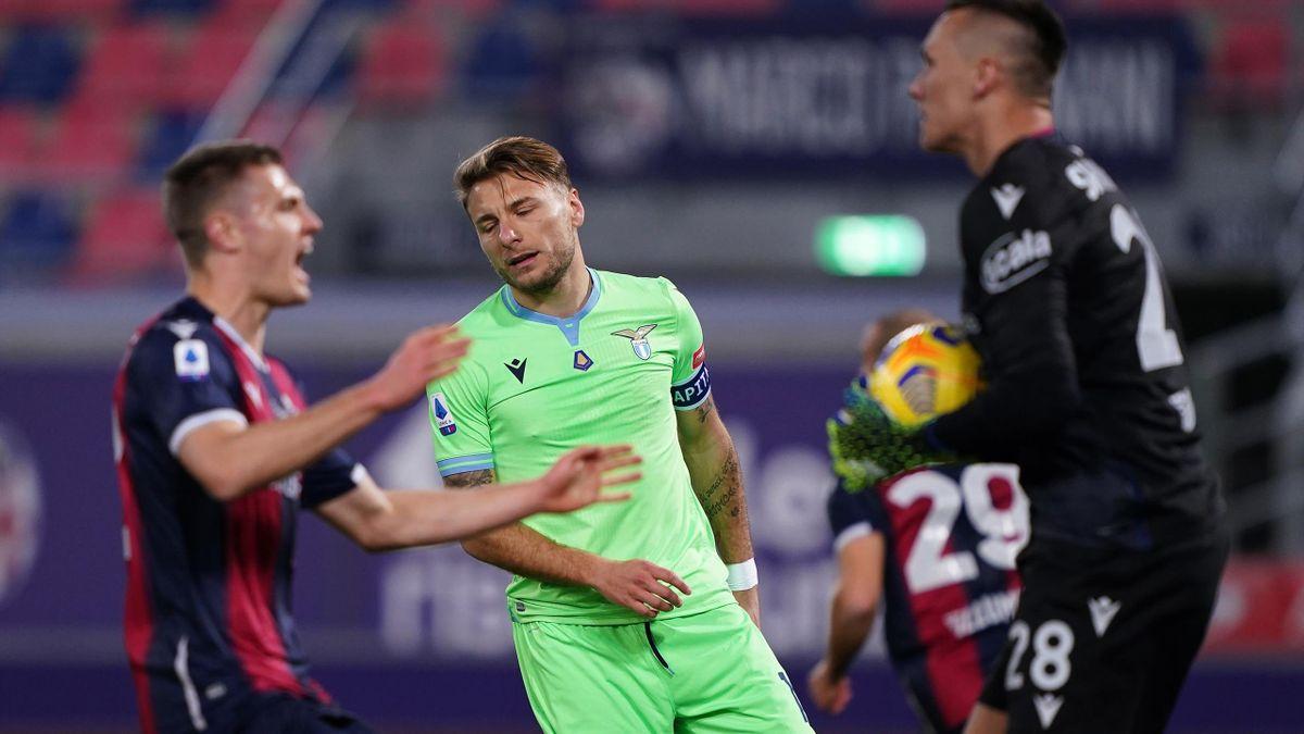 Bologna-Lazio 2-0, le pagelle: Immobile e Correa steccano, brillano Sansone  e Skorupski - Eurosport