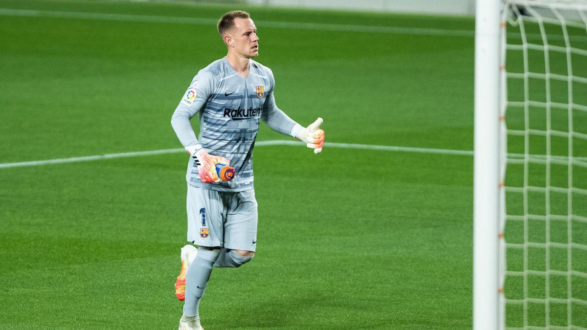 Marc-André ter Stegen könnte schon bald ins Tor des FC Barcelona zurückkehren