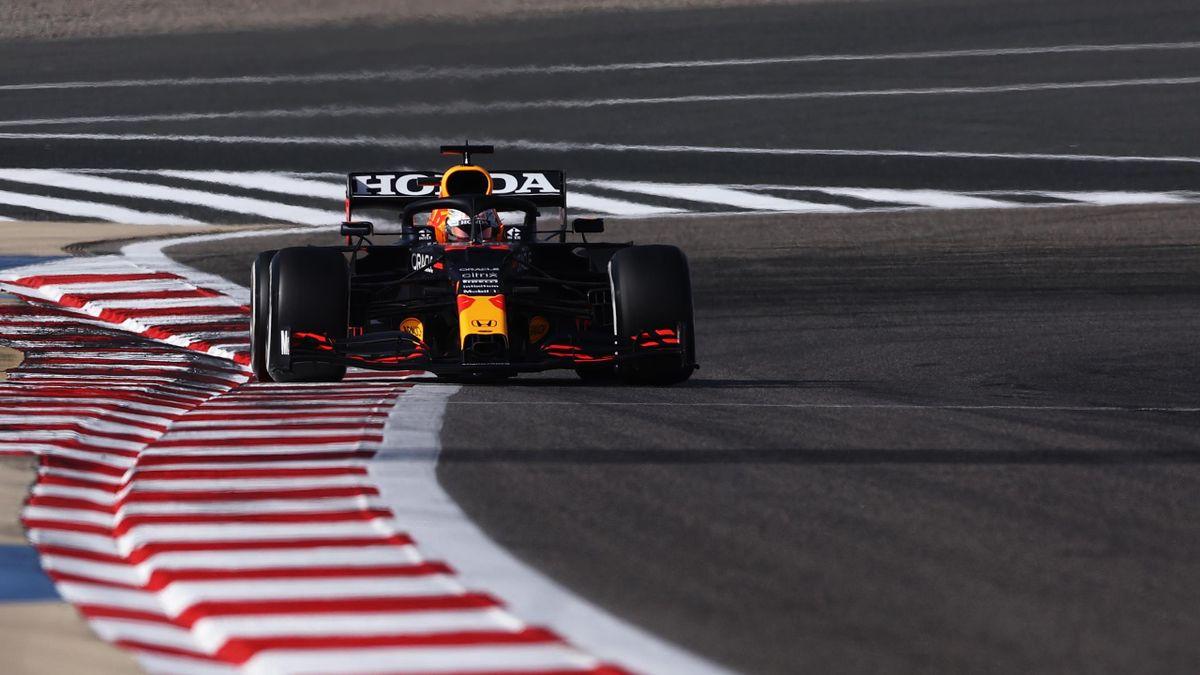Max Verstappen dominierte im Red Bull das 3. Freie Training in Bahrain
