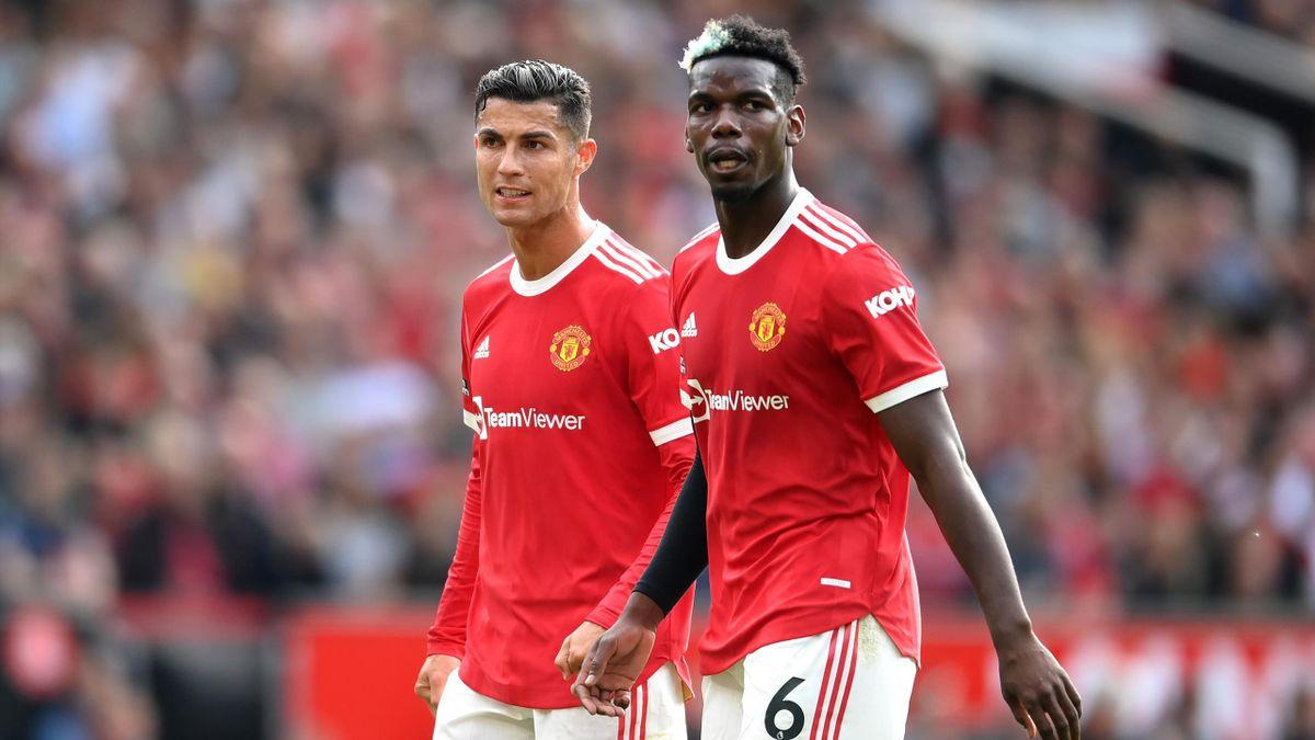 Cristiano Ronaldo and Paul Pogba, Manchester United