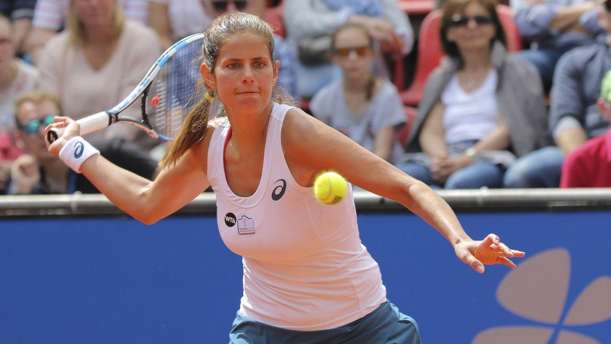Julia Görges hat das Finale in Moskau erreicht