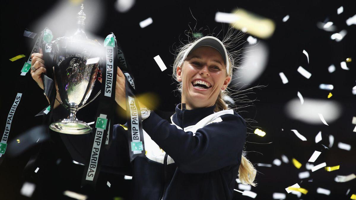 WTA Finals 2017, Singapore: Caroline Wozniacki (Getty Images)