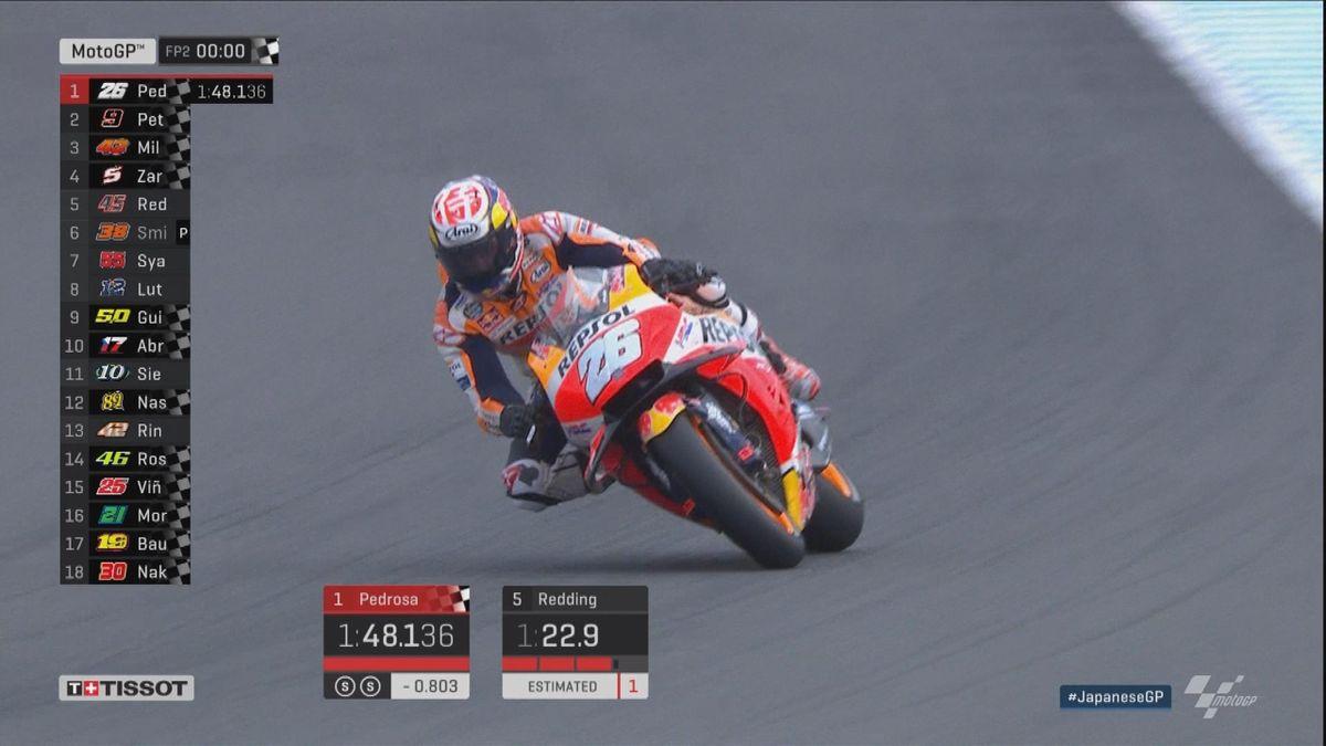 GP Japan: Moto GP FP2 - Best lap Pedrosa