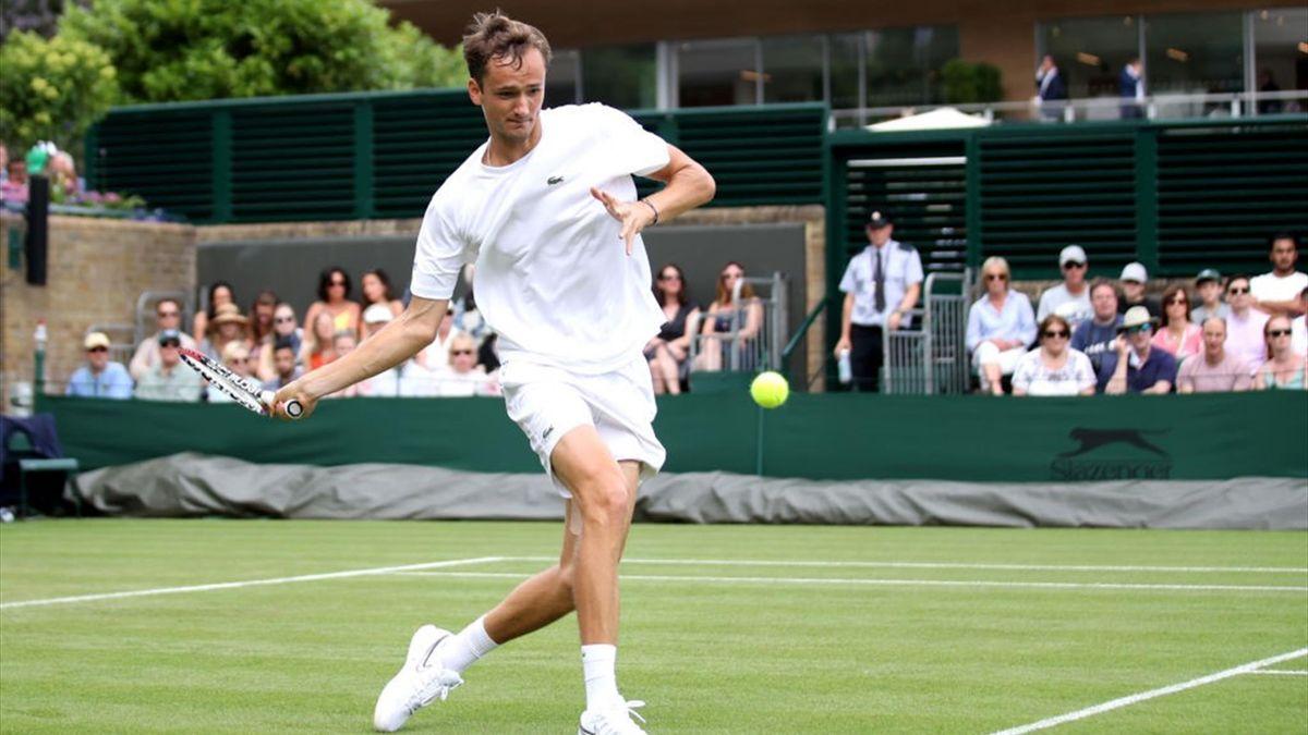 Wimbledon - Day 1 - Medvedev vs Lorenzi Highlights