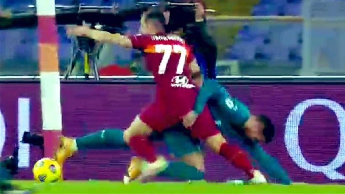 Mkhitaryan contrasto Roma-Milan