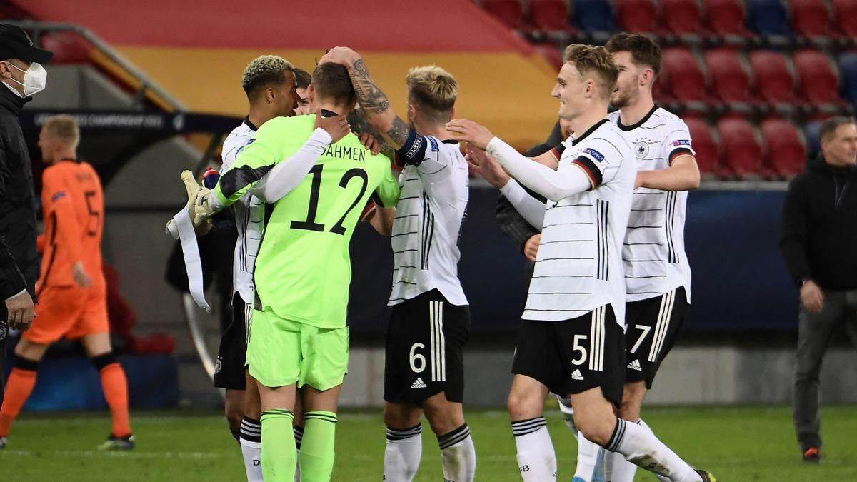 Die U21 steht vor dem Einzug ins EM-Viertelfinale