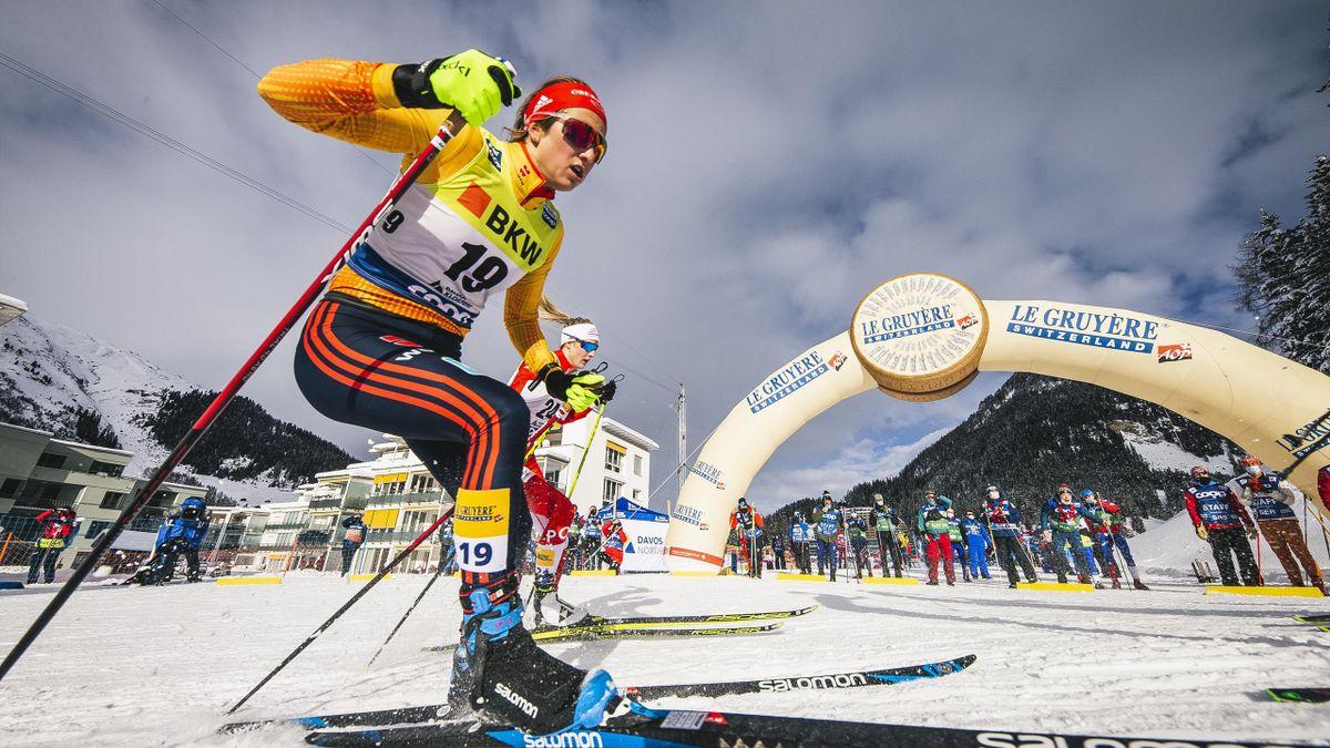 Laura Gimmler überzeugte beim Saisonfinale in Engadin