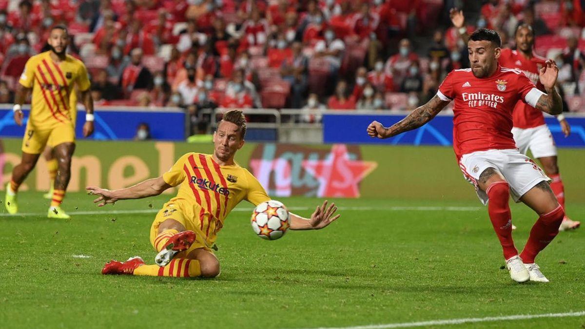 Barcelona, Benfica, Luuk de jong